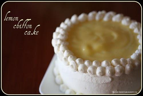 Tender Crumb Triple Lemon Chiffon Cake Tcs