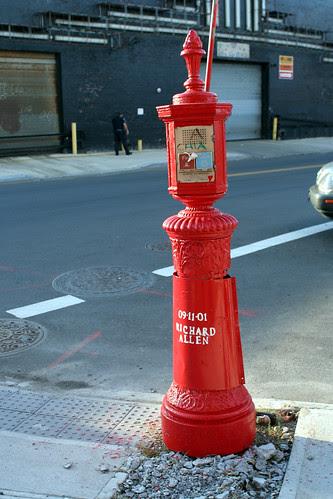 Call box memorial