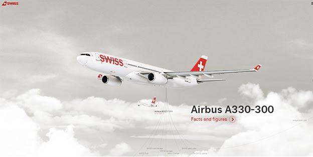 Swiss Air Airbus