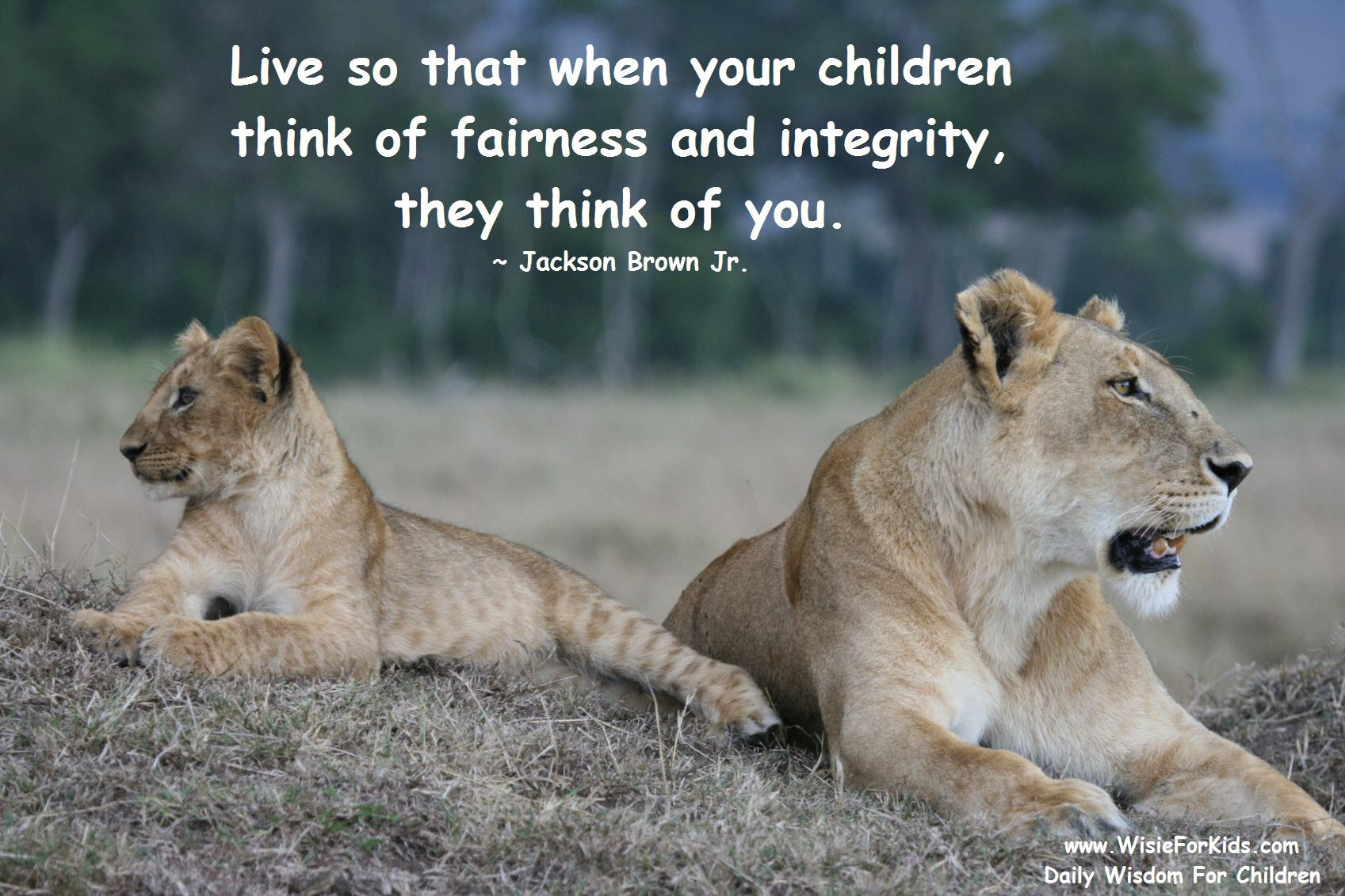 Inspiring Mother Quotes Teaching Your Child About Integrity Wisie