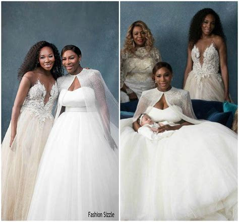 Venus Williams In custom Galia Lahav @ Serena Williams