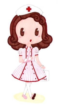 ilustração enfermeira
