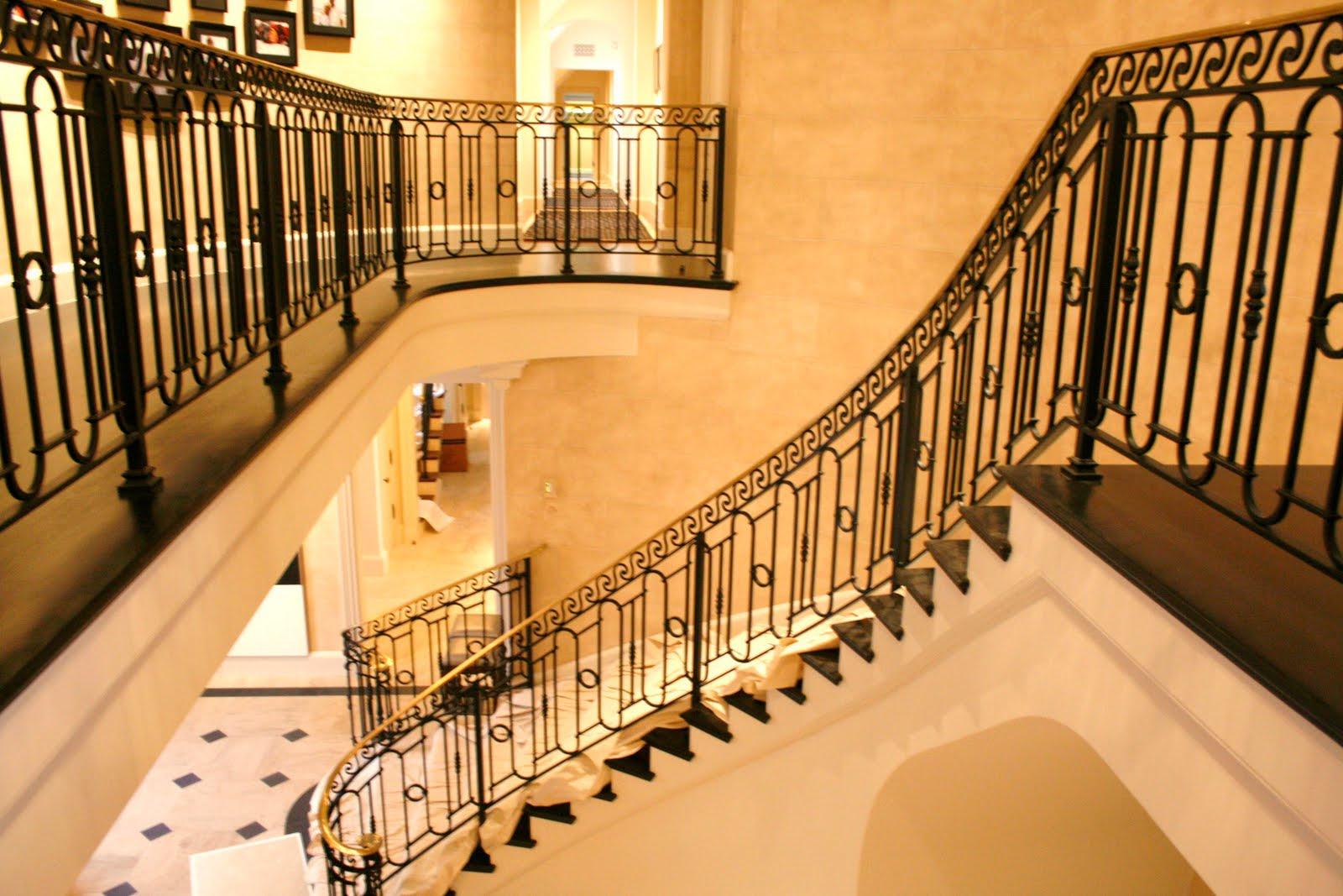 Wrought Iron Stair Railings Interior Newsonair Org Living Room Decoration Ideas