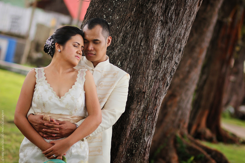 Rommel and April Wedding, Cafe Lawis Panglao Island