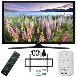 Samsung UN50J5000 - 50-Inch Full HD 1080p LED HDTV Slim Flat Wall Mount Bundle