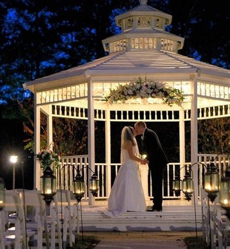 25  best ideas about Outdoor wedding gazebo on Pinterest