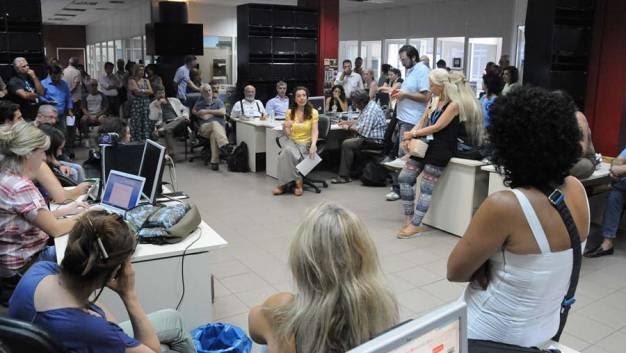 Οι δημοσιογράφοι της ΕΡΤ αποκρούουν τα παιχνίδια που εξελίσσονται εις βάρος τους
