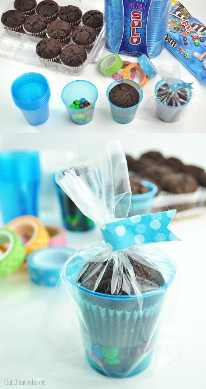 Mini Brownie treat cups DIY