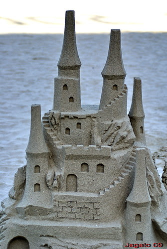 Castillo de arena.