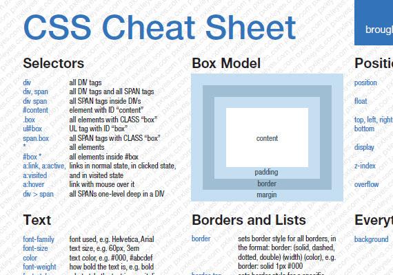 Cheatsheets6