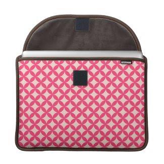 Lovely Pink Mac Book Sleeve rickshaw_flapsleeve