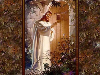 Jesus bate à sua Porta...