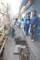 The Rude Arrogant  Municipal Contractor of Bandra Bazar Road by firoze shakir photographerno1