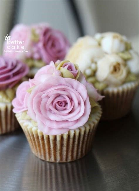 Best 25  Rose cupcake ideas on Pinterest   Rose frosting