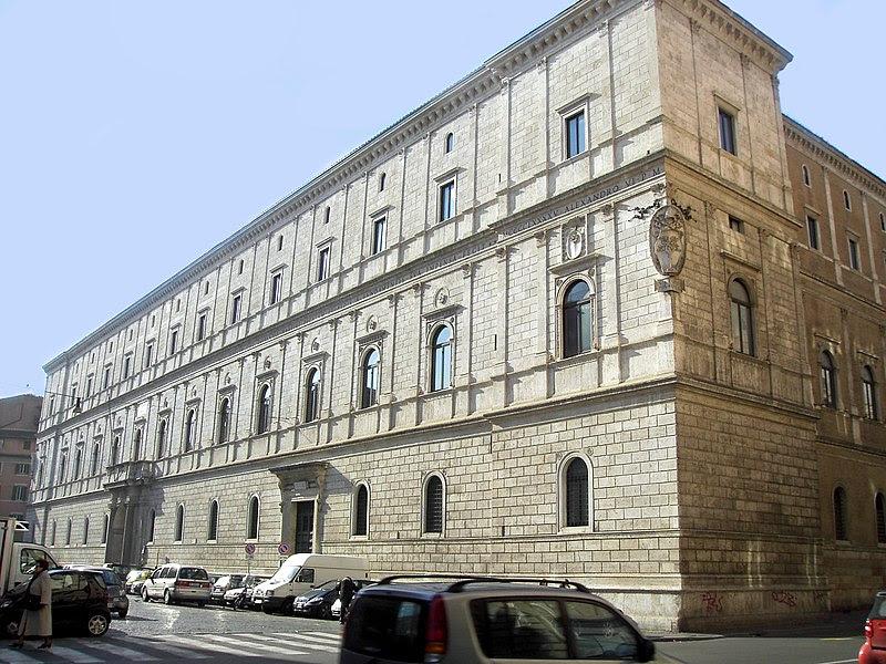 File:Parione - palazzo Riario o Cancelleria nuova 1628.JPG
