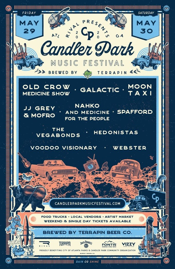 Candler Park Music Festival Sets Lineup: Old Crow Medicine Show, Galactic, Spafford and More