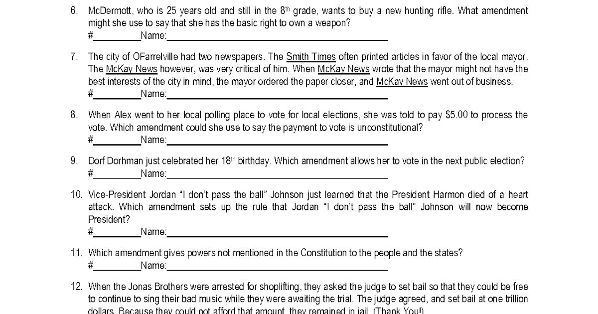 30 Anatomy Of The Constitution Worksheet Answers ...