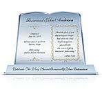 Clergy/Pastor Appreciation Plaques