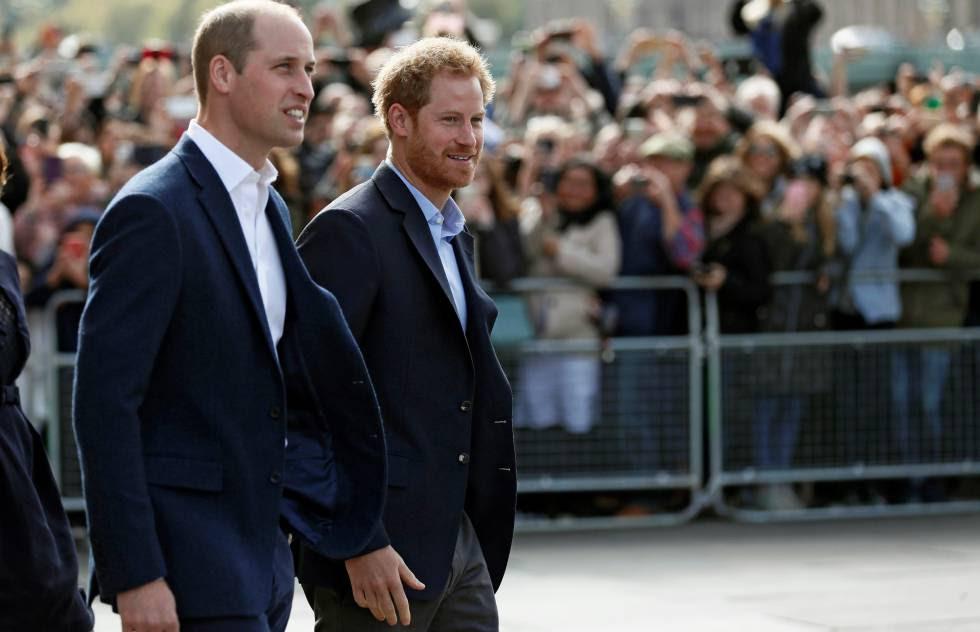 Guillermo y Enrique de Inglaterra