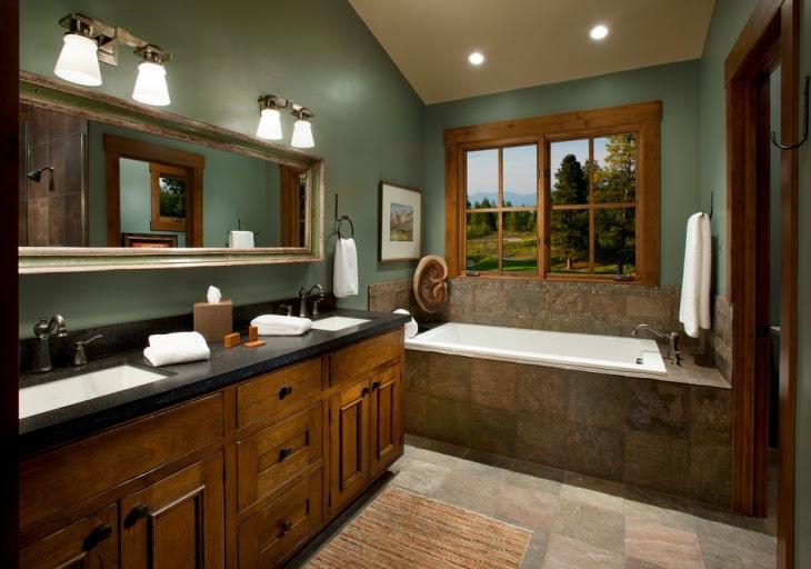20+ Bathroom Paint Designs, Decorating Ideas | Design Trends