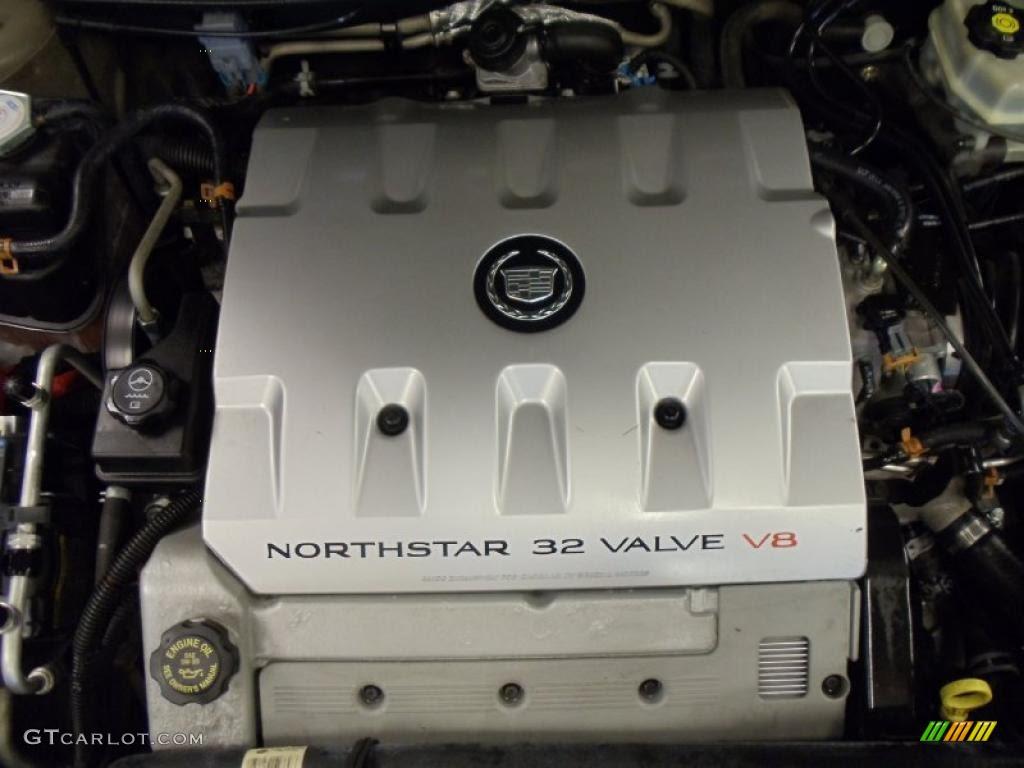 2002 Cadillac DeVille DTS 4.6 Liter DOHC 32-Valve ...