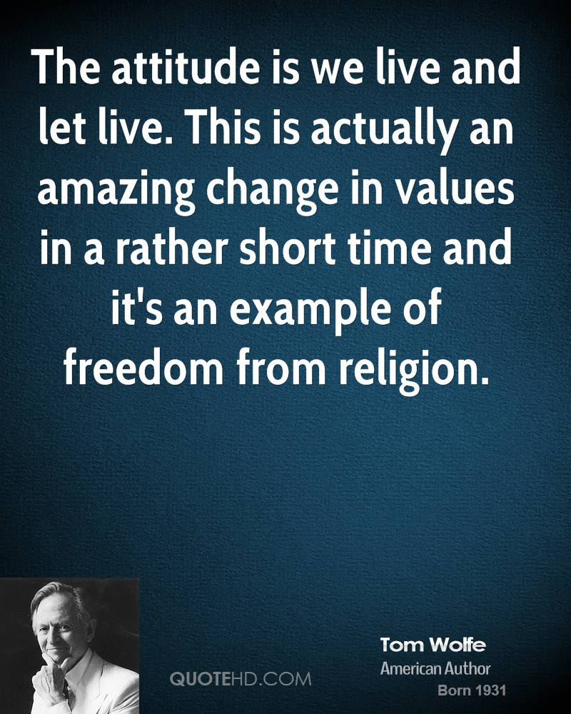 Tom Wolfe Religion Quotes Quotehd