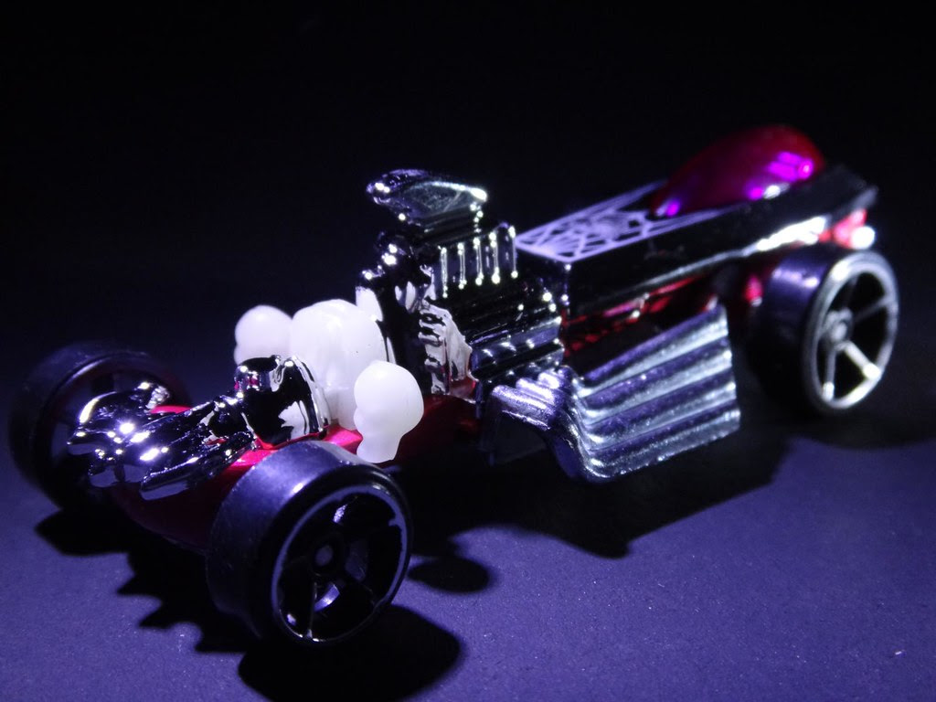 2013 Halloween Hot Wheels exclusive Rigor Motor