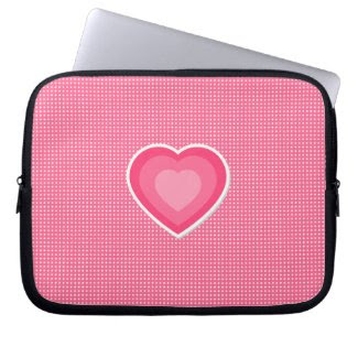 Sweetheart Laptop Sleeve fuji_electronicsbag
