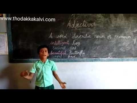 Class:5 - Grammar : Adjectives-videos