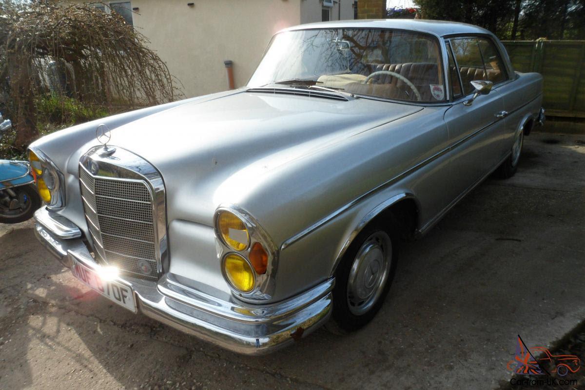 rare mercedes 280ce coupe