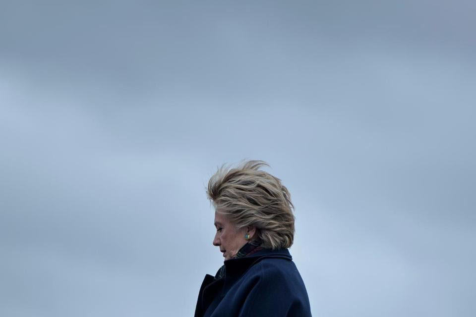 Democratic presidential nominee Hillary Clinton arrived Friday at Boeing Field in Seattle. Clinton's schedule is much slower than nominees in the 2008 and 2012 elections, according to a Globe review.