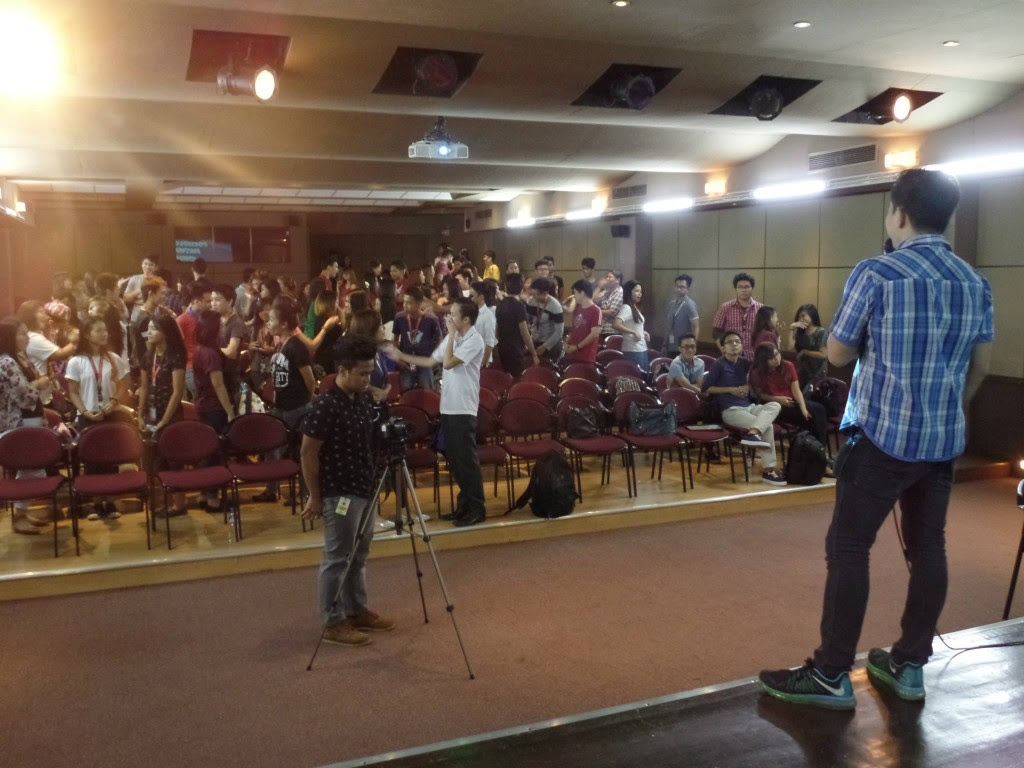 The VoiceMaster Speaks at LPU Mansoc Beginners Guide