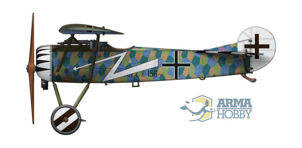 Fokker niemiecki strzała