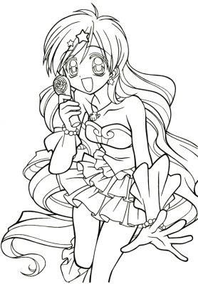 Dernier Coloriage De Manga A Imprimer Coloriages A Imprimer Gratuits