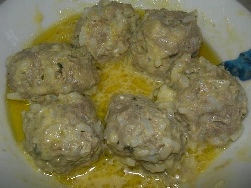 youvarlakia in avgolemono sauce