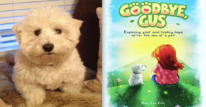 Rescue Dog's Death Inspires Woman To Write Children's Book