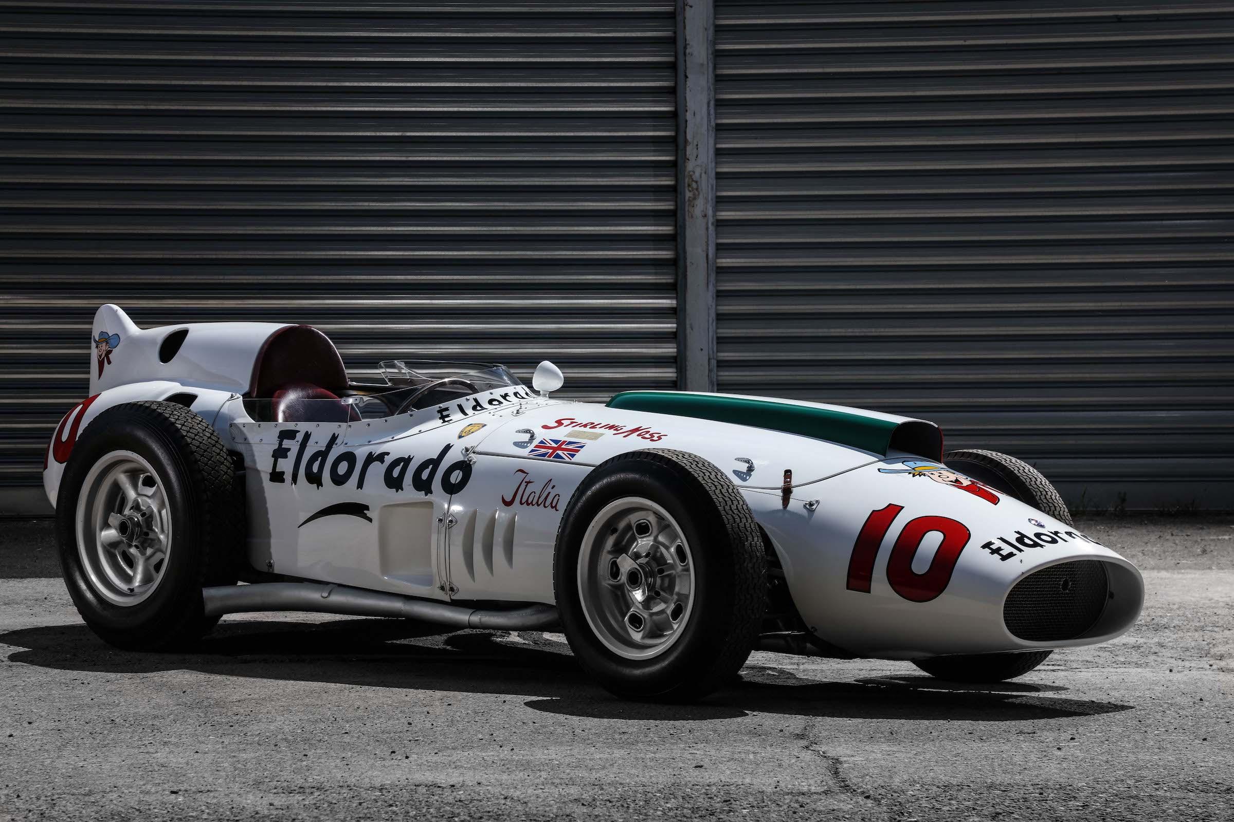 The Maserati Eldorado Tipo  The Monzanapolis Racer