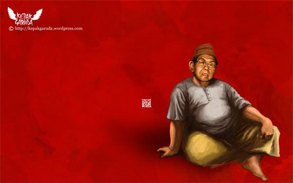 Wallpaper Gus Dur dari KepakGaruda.com