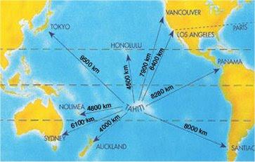 Plano de la Polinesia
