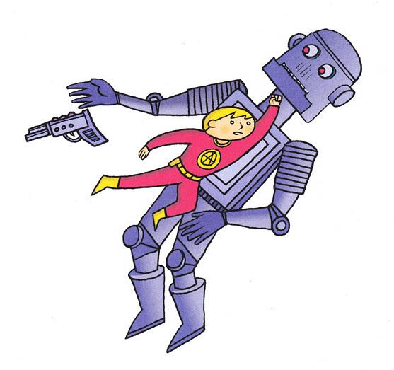 boy vs robot