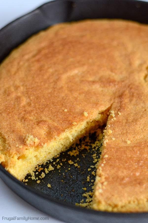 Image result for cornbread in pie tin