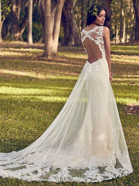 Bernadine (8MN499) Vintage Wedding Dress by Maggie Sottero