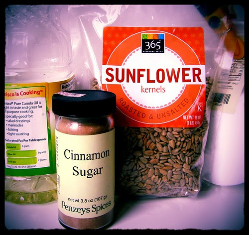 Homemade Sunbutter, Ingredients