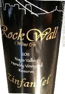 Rock Wall Wine Company Hendry Vineyard Block 2