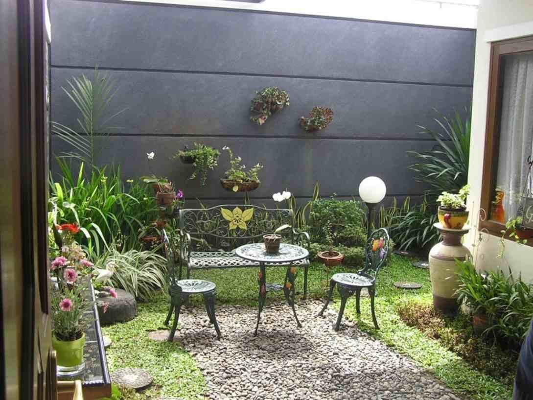 Taman Belakang Rumah Minimalis Dan Teras Gambar Desain Rumah 1557