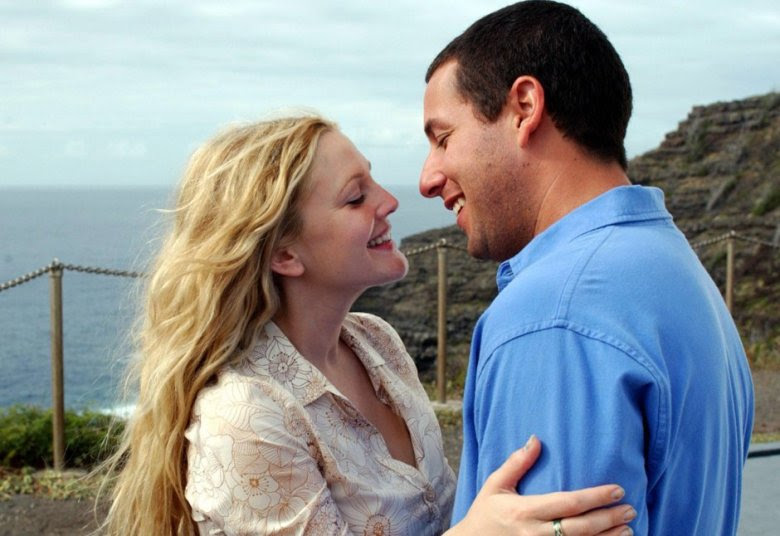 50 First Dates Drew Barrymore Adam Sandler