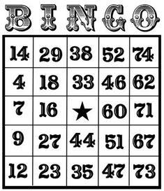 49 Printable Bingo Card Templates - including some blanks to ...