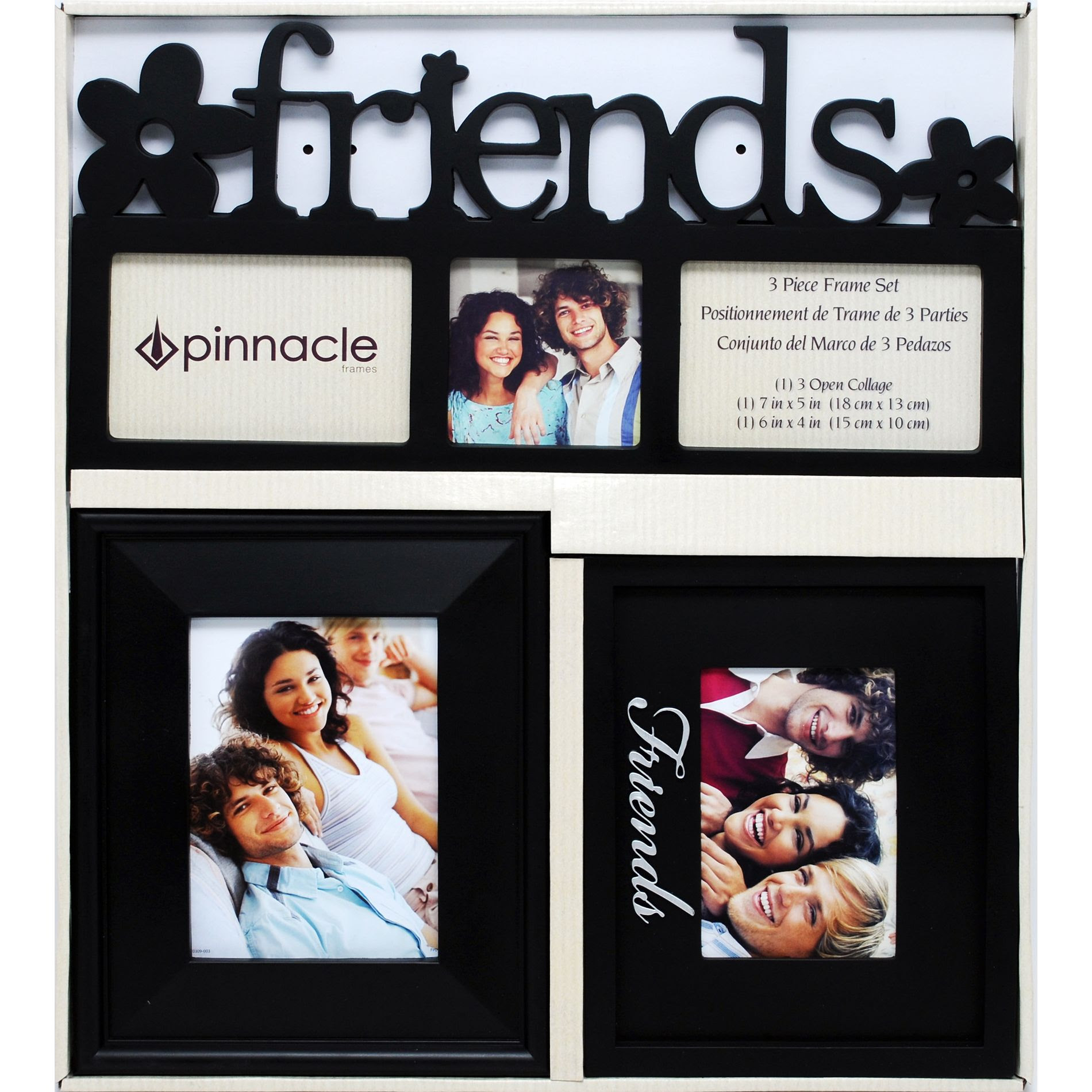 Upc 038555363509 Pinnacle Friends 3 Piece Picture Frame Set