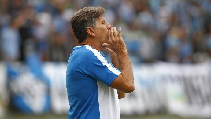 Renato Caxias x Grêmio (Foto: Lucas Uebel/Divulgação Grêmio)
