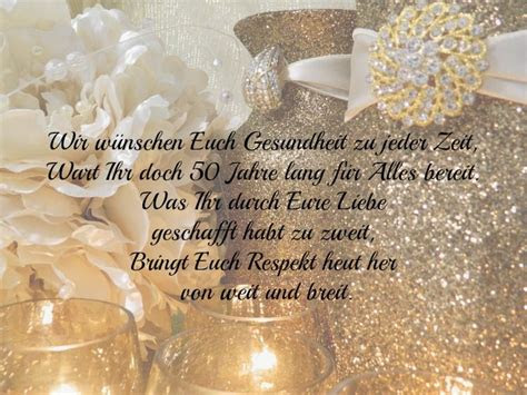 Rede Zur Goldenen Hochzeit An Die Gaste De Hochzeit
